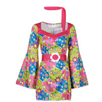 textil Mujer Disfraces Fun Costumes COSTUME ADULTE SWEET MEADOW Multicolor