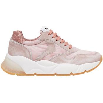 Zapatos Hombre Zapatillas bajas Voile Blanche SHEEL VEL.DELAVE ROSA Rosa