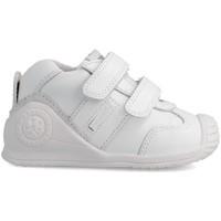 Zapatos Niños Zapatillas bajas Biomecanics BIOGATEO ZAPATILLAS NIÑOS Blanco