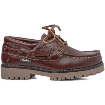 Zapatos Hombre Zapatos náuticos Gorila COLEGIAL NAUTICO MARRON Marrón