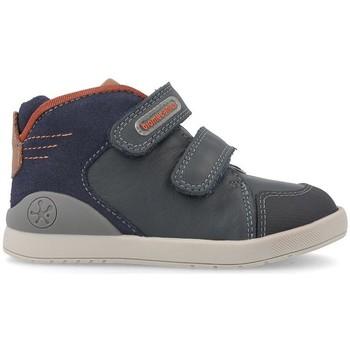 Zapatos Niños Zapatillas altas Biomecanics BOTA VELCRO LISO Azul