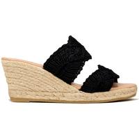 Zapatos Mujer Alpargatas Gaimo ZUECO 2 TIRAS CORDELA Negro