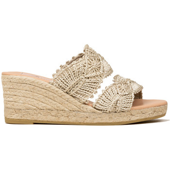 Zapatos Mujer Alpargatas Gaimo ZUECO 2 TIRAS CORDELA Beige