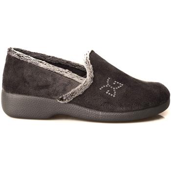 Zapatos Mujer Pantuflas Garzon CERRADA CUÑA LOGO