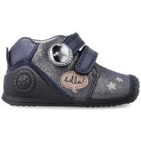 Zapatos Niños Zapatillas bajas Biomecanics METALIZADO Azul
