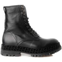 Zapatos Hombre Botas de caña baja Gaimo BOTIN MILITAR PONY Negro