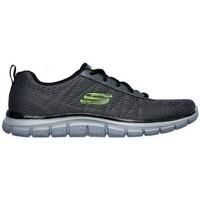 Zapatos Hombre Zapatillas bajas Skechers Track Moulton 232081 Gris