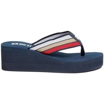 Zapatos Mujer Chanclas Big Star FF274A301 Azul marino