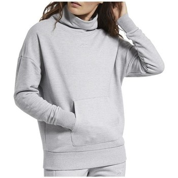 textil Mujer Sudaderas Reebok Sport TE Textured Warm Coverup Grises