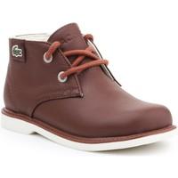 Zapatos Niños Botas de caña baja Lacoste Sherbrook HI SB SPC 7-30SPC201177T marrón