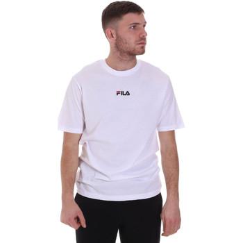textil Hombre Camisetas manga corta Fila 687990 Blanco