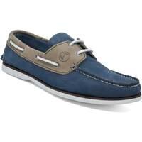 Zapatos Hombre Zapatos náuticos Seajure Náuticos Vicentina Camello y azul