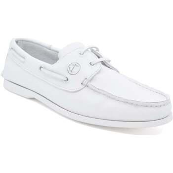Zapatos Hombre Zapatos náuticos Seajure Náuticos Knude Blanco