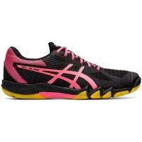 Zapatos Mujer Running / trail Asics Gelblade 7 Negros, Rosa