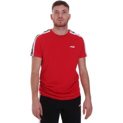 textil Hombre Camisetas manga corta Fila 687700 Rojo