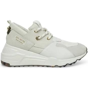 Zapatos Mujer Deportivas Moda Steve Madden SMPCLIFF-WHTWHT Blanco