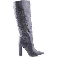 Zapatos Mujer Botas de caña baja Steve Madden SMSROUGE-GRYCRO Gris
