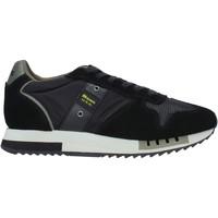 Zapatos Hombre Deportivas Moda Blauer F0QUEENS01/CAM Negro