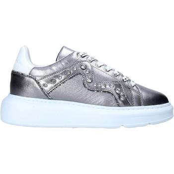 Zapatos Mujer Deportivas Moda Manila Grace S016LW Plata