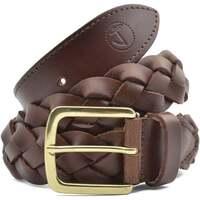 Accesorios textil Hombre Cinturones Seajure Cinturón clásico trenzado Marrón