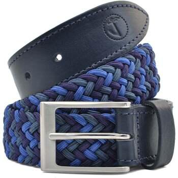Accesorios textil Hombre Cinturones Seajure Cinturón trenzado elástico Azul