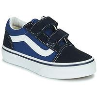 Zapatos Niños Zapatillas bajas Vans OLD SKOOL Azul