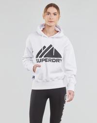 textil Mujer Sudaderas Superdry MOUNTAIN SPORT MONO HOOD Blanco