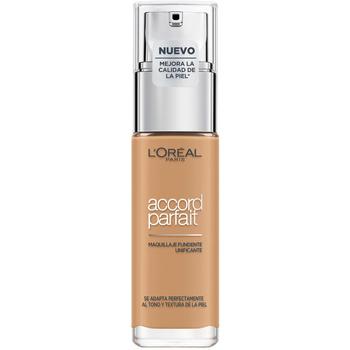 Belleza Mujer Base de maquillaje L'oréal Accord Parfait Foundation 6,5d/6,5w-caramel Dore L'Oreal Make