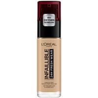 Belleza Mujer Base de maquillaje L'oréal Infaillible 24h Fresh Wear Foundation 200-sable Doré L'Oreal M