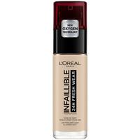 Belleza Mujer Base de maquillaje L'oréal Infaillible 24h Fresh Wear Foundation 015-porcelain L'Oreal Ma