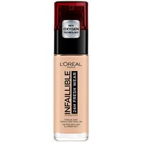 Belleza Mujer Base de maquillaje L'oréal Infaillible 24h Fresh Wear Foundation 110-rose Vanilla L'Oreal