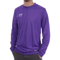 textil Hombre Camisetas manga larga Hungaria  Violeta
