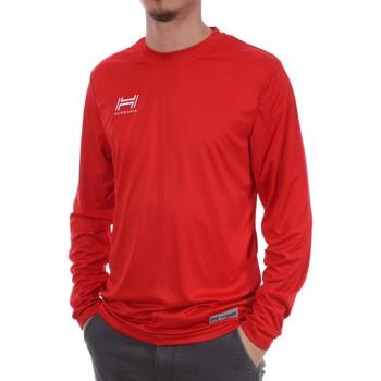 textil Hombre Camisetas manga larga Hungaria  Rojo