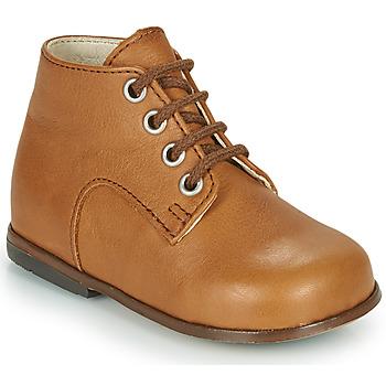 Zapatos Niña Zapatillas altas Little Mary MILOTO Marrón
