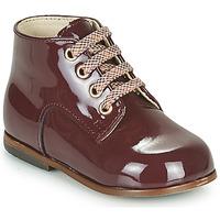 Zapatos Niña Zapatillas altas Little Mary MILOTO Burdeo