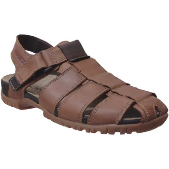 Zapatos Hombre Sandalias Mephisto BASILE Cuero marrón