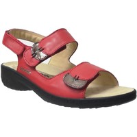 Zapatos Mujer Sandalias Mobils By Mephisto Getha Rojo
