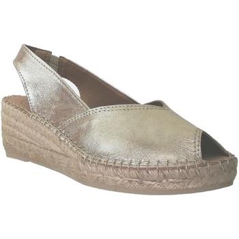 Zapatos Mujer Alpargatas Toni Pons Bernia-p Oro/Platino