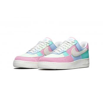 Zapatos Zapatillas bajas Nike Air Force 1 Low Easter Egg Ice Blue/Sail-Hyper Turq-Barely Volt