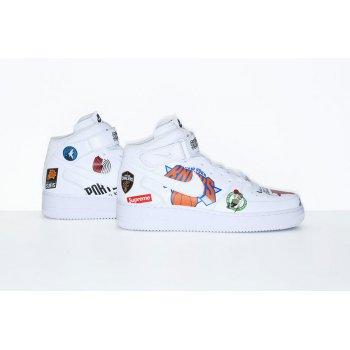 Zapatos Zapatillas bajas Nike Air Force 1 High x Supreme