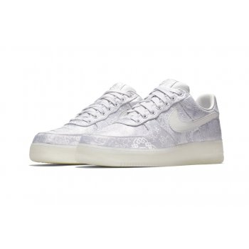 Zapatos Zapatillas bajas Nike Air Force 1 Low x CLOT Premium White/White-White