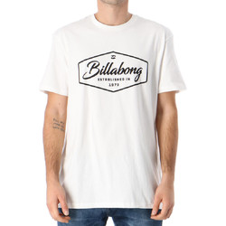 textil Hombre Camisetas manga corta Billabong  Blanco