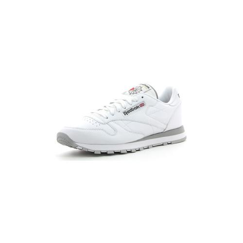 Zapatos Hombre Zapatillas bajas Reebok Sport CL LTHR Blanc