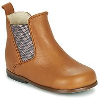 Zapatos Niña Botas de caña baja Little Mary ARON Marrón