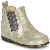 Zapatos Niña Botas de caña baja Little Mary ARON Plata