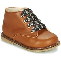 Zapatos Niña Zapatillas altas Little Mary JUDITE Marrón