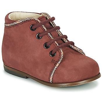 Zapatos Niña Zapatillas altas Little Mary MEGGIE Burdeo