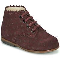 Zapatos Niña Zapatillas altas Little Mary VIVALDI Burdeo