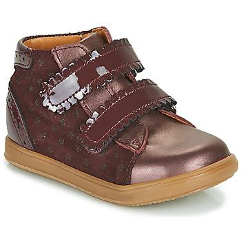 Zapatos Niña Zapatillas altas Little Mary CRISTIE Burdeo