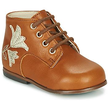 Zapatos Niña Zapatillas altas Little Mary MEIGE Marrón